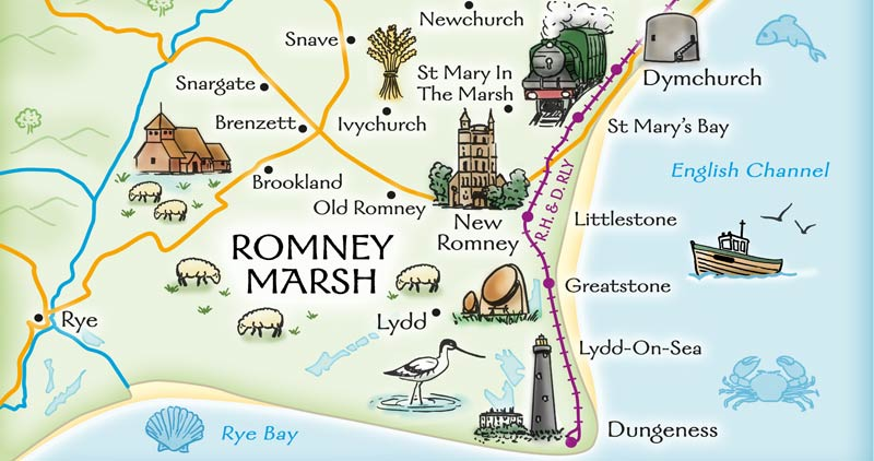 New Romney on Romney Marsh